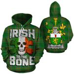 McGuiness Family Crest Ireland National Tartan Irish To The Bone Hoodie