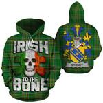 Stoney Family Crest Ireland National Tartan Irish To The Bone Hoodie