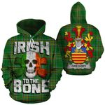 Gregory Family Crest Ireland National Tartan Irish To The Bone Hoodie