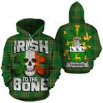 Edwards Family Crest Ireland National Tartan Irish To The Bone Hoodie