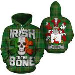 Bowen Family Crest Ireland National Tartan Irish To The Bone Hoodie