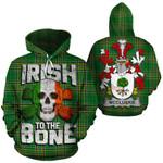 McCluskie Family Crest Ireland National Tartan Irish To The Bone Hoodie