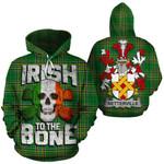 Netterville Family Crest Ireland National Tartan Irish To The Bone Hoodie