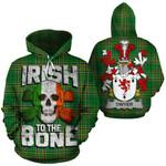 Dwyer Family Crest Ireland National Tartan Irish To The Bone Hoodie