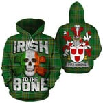 Fitz-Simons Family Crest Ireland National Tartan Irish To The Bone Hoodie