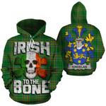 Kindelan Family Crest Ireland National Tartan Irish To The Bone Hoodie