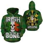 Ambrose Family Crest Ireland National Tartan Irish To The Bone Hoodie