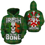 Agnew Family Crest Ireland National Tartan Irish To The Bone Hoodie