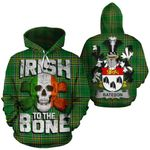 Bateson Family Crest Ireland National Tartan Irish To The Bone Hoodie