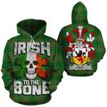 Daly Family Crest Ireland National Tartan Irish To The Bone Hoodie