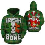 Mohun Family Crest Ireland National Tartan Irish To The Bone Hoodie