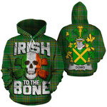 Dowd Family Crest Ireland National Tartan Irish To The Bone Hoodie