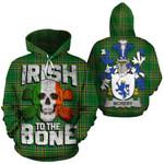 McRery Family Crest Ireland National Tartan Irish To The Bone Hoodie