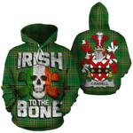Candell Family Crest Ireland National Tartan Irish To The Bone Hoodie