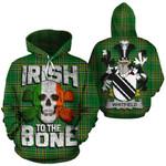 Whitfield Family Crest Ireland National Tartan Irish To The Bone Hoodie