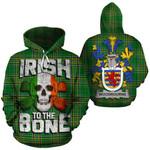 Woodbourne Family Crest Ireland National Tartan Irish To The Bone Hoodie