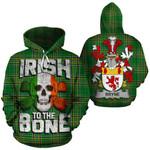 Bryne Family Crest Ireland National Tartan Irish To The Bone Hoodie
