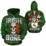 McDevitt Family Crest Ireland National Tartan Irish To The Bone Hoodie