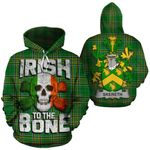 Skereth Family Crest Ireland National Tartan Irish To The Bone Hoodie