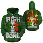 Sullivan Family Crest Ireland National Tartan Irish To The Bone Hoodie