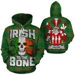 Galvin Family Crest Ireland National Tartan Irish To The Bone Hoodie