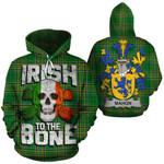 Mahon Family Crest Ireland National Tartan Irish To The Bone Hoodie