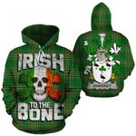 Sharkey Family Crest Ireland National Tartan Irish To The Bone Hoodie