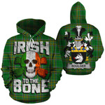 Boulger Family Crest Ireland National Tartan Irish To The Bone Hoodie