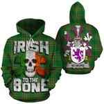 McMore Family Crest Ireland National Tartan Irish To The Bone Hoodie