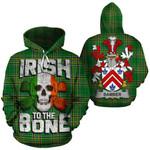 Bamber Family Crest Ireland National Tartan Irish To The Bone Hoodie