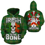 Archer Family Crest Ireland National Tartan Irish To The Bone Hoodie