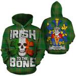 Tuohy Family Crest Ireland National Tartan Irish To The Bone Hoodie