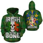 Mahony Family Crest Ireland National Tartan Irish To The Bone Hoodie