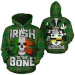 McCready Family Crest Ireland National Tartan Irish To The Bone Hoodie