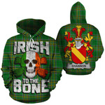 Shannon Family Crest Ireland National Tartan Irish To The Bone Hoodie