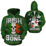 Kellett Family Crest Ireland National Tartan Irish To The Bone Hoodie