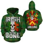 Rich Family Crest Ireland National Tartan Irish To The Bone Hoodie