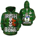 Beirne Family Crest Ireland National Tartan Irish To The Bone Hoodie