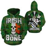 Cuffe Family Crest Ireland National Tartan Irish To The Bone Hoodie