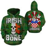 Micklethwait Family Crest Ireland National Tartan Irish To The Bone Hoodie