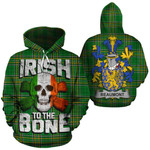 Beaumont Family Crest Ireland National Tartan Irish To The Bone Hoodie