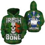 Cahill Family Crest Ireland National Tartan Irish To The Bone Hoodie