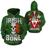 Delap Family Crest Ireland National Tartan Irish To The Bone Hoodie