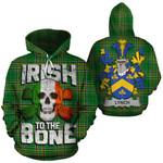 Lynch Family Crest Ireland National Tartan Irish To The Bone Hoodie
