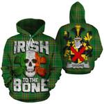 Giggins Family Crest Ireland National Tartan Irish To The Bone Hoodie