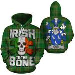 Nash Family Crest Ireland National Tartan Irish To The Bone Hoodie