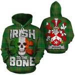 Meehan Family Crest Ireland National Tartan Irish To The Bone Hoodie