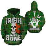 McGarry Family Crest Ireland National Tartan Irish To The Bone Hoodie
