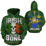 Wray Family Crest Ireland National Tartan Irish To The Bone Hoodie