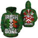 Hewitt Family Crest Ireland National Tartan Irish To The Bone Hoodie